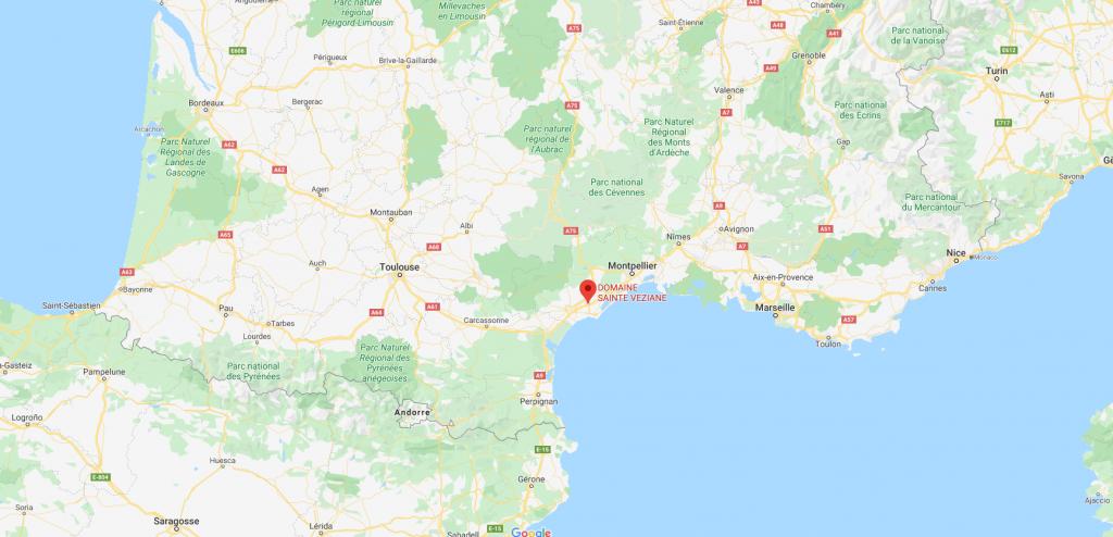 Domaine De Sainte Veziane : Maps