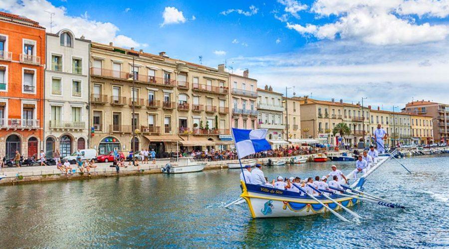 Domaine De Sainte Veziane : Joutes à Sète