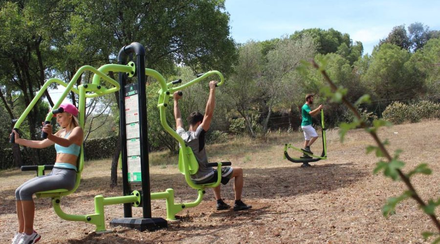 Domaine De Sainte Veziane : Fitness