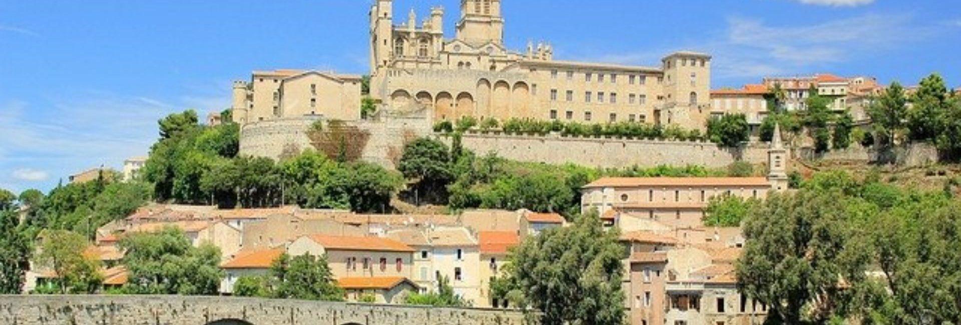 Domaine Sainte Véziane : Diaporama Vue De Béziers