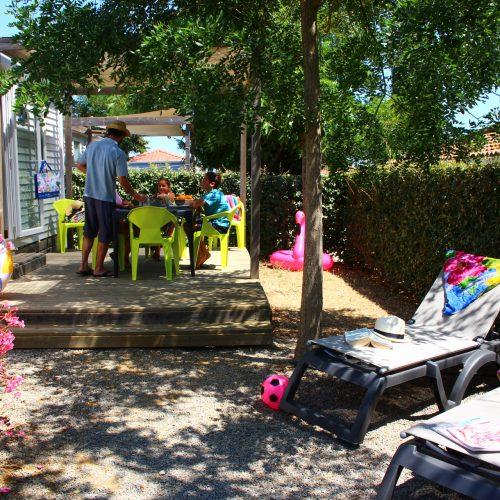 Domaivue of the mobile home in Vias SunÊlia Confort + 2ch Main domain Sainte veziane